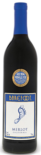 Barefoot Merlot 750ml - Case of 12